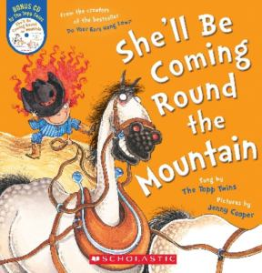 she'll be coming round the mountain cooper cover