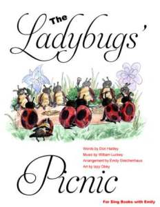 ladybugs' picnic book w izzy obey art cover only 2