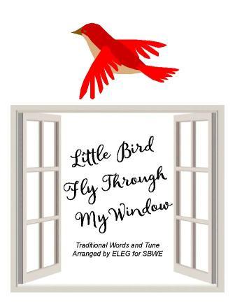 little bird fly through my window ELEG SBWE cover only