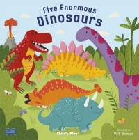five enormous dinosaurs cover
