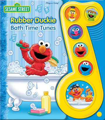 rubber duckie bath time tunes cover