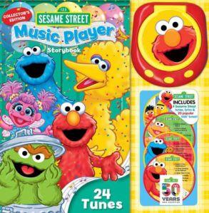 Sesame Street Music Player 24 tns 50 yrs cover
