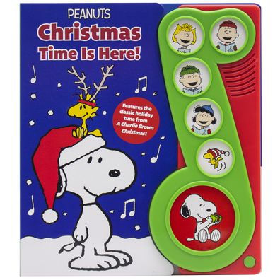 Christmas Time Is Here Peanuts Play-a-Song cover