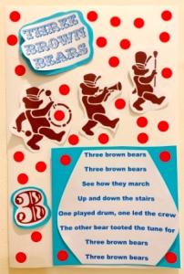 3 brown bears eleg sbwe poster - Copy