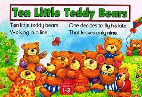 ten little teddy bears wilcox cover
