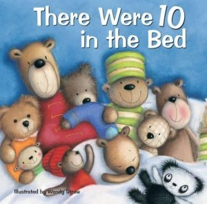 there were 10 in the bed wendy straw