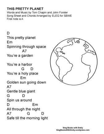 this pretty planet SBWE w chords