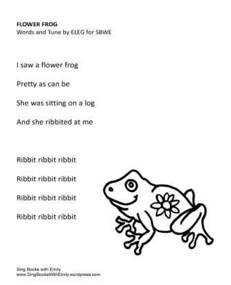 Flower Frog no chords ELEG SBWE