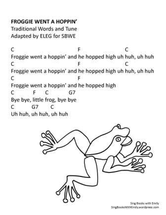 froggie went a hoppin w chords SBWE