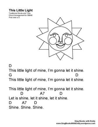 THIS LITTLE LIGHT ELEGs Sun w chords