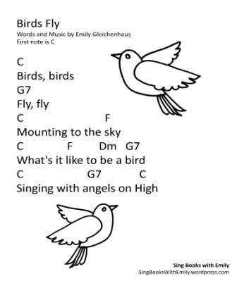 Sing Along Resources Printable Materials Sing Books With Emily The Blog