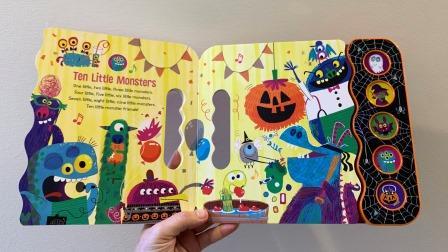 ten little monsters - Copy